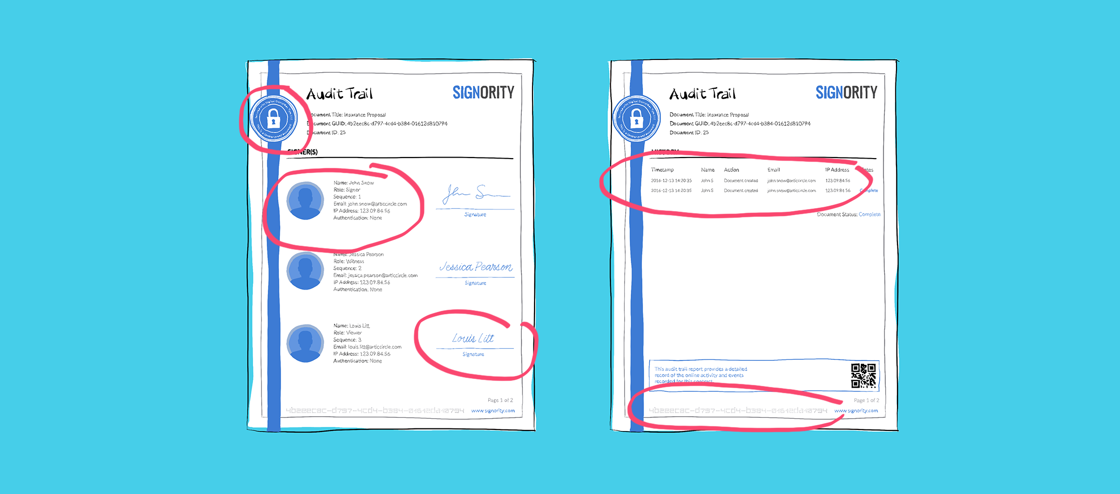 The Anatomy Of An Audit Trail Electronic Signature Simplified