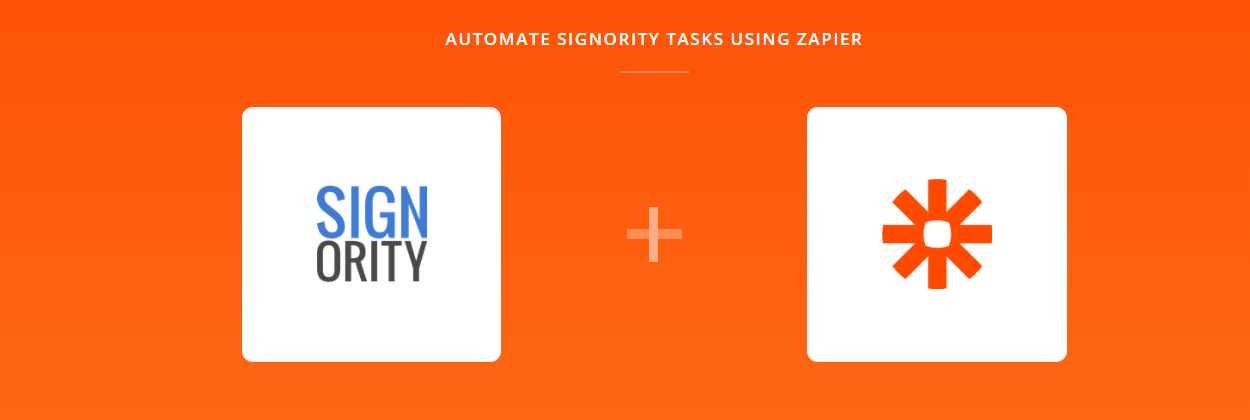 Signority Announces Their New Zapier Integration